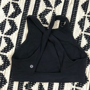 Lululemon Free To Be Serene High Neck Sports Bra